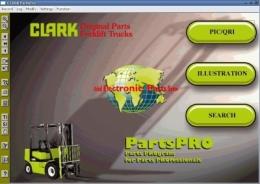 Программа CLARK FORKLIFT содержит каталог деталей вилочных погрузчиков различной грузоподъёмности (включая модели с электроприводом) а так же сервисные мануалы и информацию по ремонту. Поставляется Clark ForkLift на 4 CD.  Поддерживает английский, немецкий, испанский и французский язык.  Интерфейс программы Clark ForkLift очень простой и удобный, есть поиск по модели, серийному номера, перечень применяемости детали, так же программа содержит сервисные бюллетени. Электронный каталог CLARK FORKLIFT содержит каталог деталей вилочных погрузчиков различной грузоподъёмности (включая модели с электроприводом) а так же сервисные мануалы и информацию по ремонту