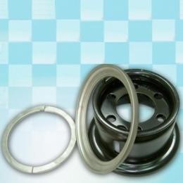 Диск для погрузчика 6.50F-10 сварной в комплекте с запорным и боковым кольцом