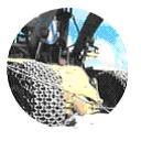 Защитные цепи для колес 45/65-39 - 18 Universal Heavy S. Square Производство Турция Las-Zirh