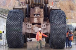 Защитные цепи для колес 18.00 - 25 - 18 Universal H.S.Square Производство Турция Las-Zirh. (3)