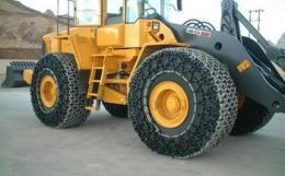 Защитные цепи для колес 17.5 - 25 - 14 Superstone Heavy S.Square Производство Турция Las-Zirh