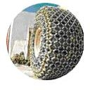 Защитные цепи для колес 17.5 - 25 - 14 Superstone Heavy S.Square Производство Турция Las-Zirh/