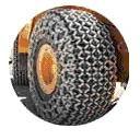 Защитные цепи для колес 17.5 - 25 - 18 Royalrock Heavy S.Square Производство Турция Las-Zirh