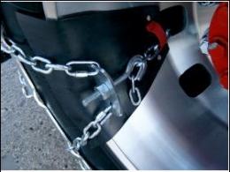 Цепь противоскольжения для грузового автомобиля Easy GRIP R19.5 - Комплект.