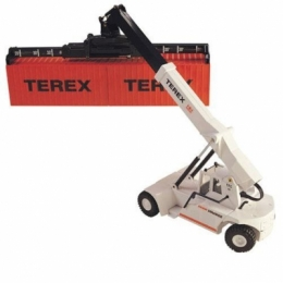 107TA7146 погрузчик Terex (SuperStacker - модель) Модель погрузчика Terex (SuperStacker - модель) Масштаб 1/50