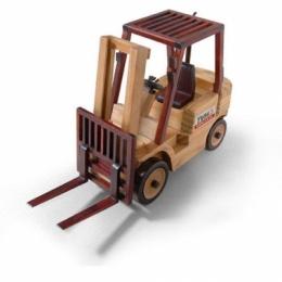 111TA6140 погрузчик TVH (Wooden forklift with TVH logo - модель) Модель погрузчика TVH (Wooden forklift with TVH logo - модель)