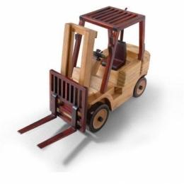 123TA9754 погрузчик TVH (Wooden forklift neutral - модель) Модель погрузчика TVH (Wooden forklift neutral - модель)