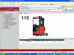 Электронный каталог запчастей Linde R14 / R16 / R20-03