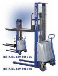 Штабелеры Armanni модель BETA SL 12V 125-3 (АКБ 12В, 155А*ч)