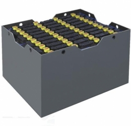 Тяговая кислотная аккумуляторная батарея 2x40 для напольного транспорта