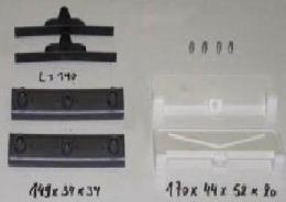 Запчасти для навесного оборудования BOLZONI ( Ремкомплект вкладышей каретки каретки бокового смещения BOLZONI 3,5 тн )